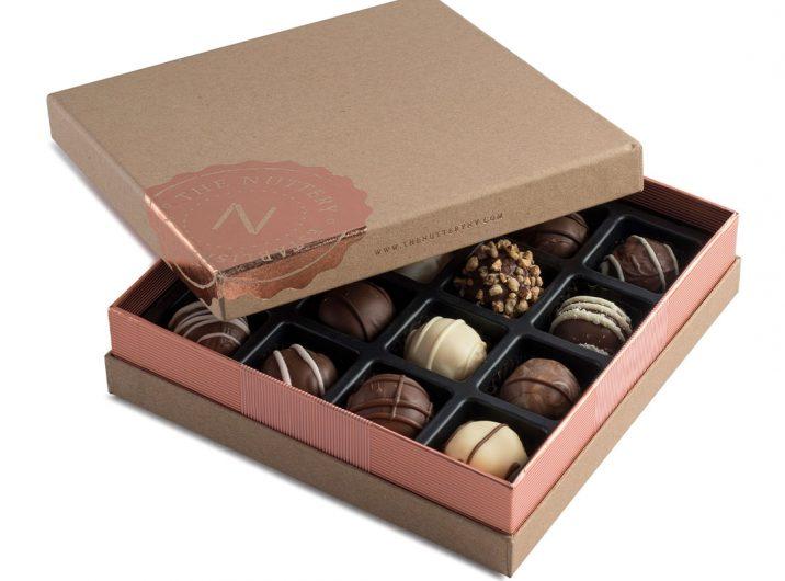 چاپ و تولید جعبه شکلات