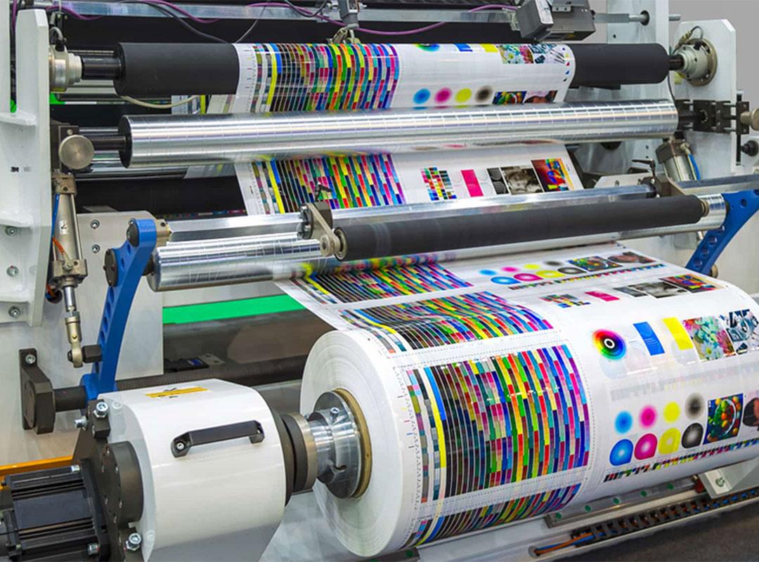 چاپ افست چگونه کار می کند؟